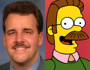 Jim Jackson and Ned Flanders